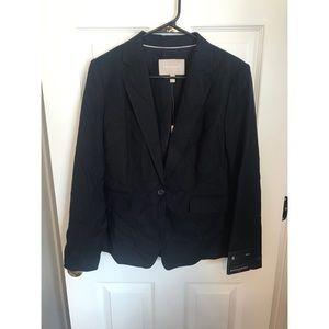 NWT black pin stripe blazer
